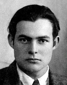 Ernest Hemingway nel 1923